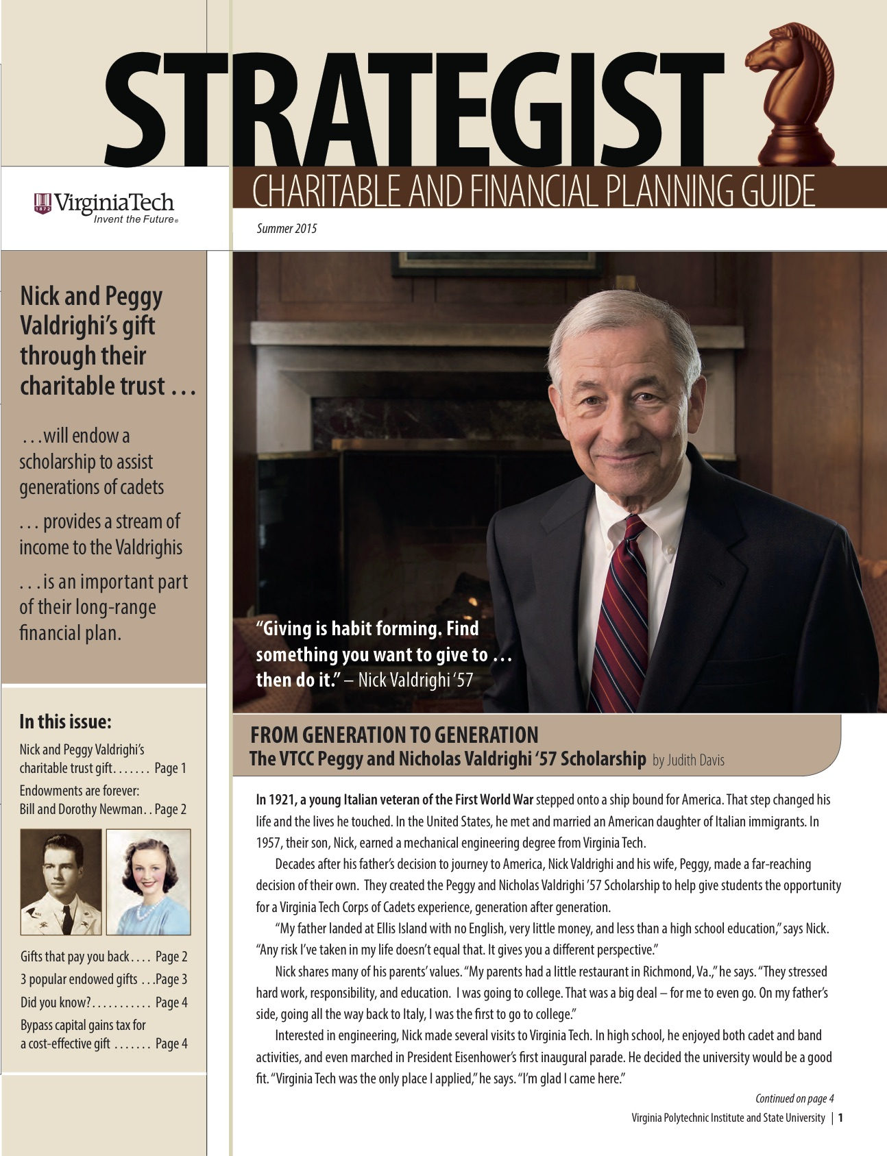Strategist Summer 2015